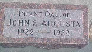 KJER, INFANT - Dixon County, Nebraska | INFANT KJER - Nebraska Gravestone Photos