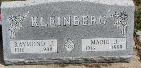 KLEINBERG, MARIE J. - Dixon County, Nebraska   MARIE J. KLEINBERG - Nebraska Gravestone Photos