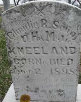 KNEELAND, CLAUDIE R. - Dixon County, Nebraska | CLAUDIE R. KNEELAND - Nebraska Gravestone Photos