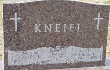 KNEIFL, NICHOLAS N. - Dixon County, Nebraska | NICHOLAS N. KNEIFL - Nebraska Gravestone Photos