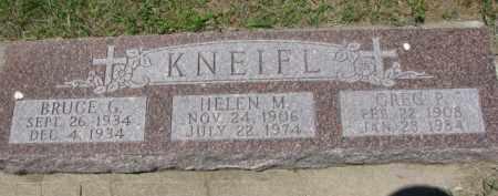 KNEIFL, HELEN M. - Dixon County, Nebraska | HELEN M. KNEIFL - Nebraska Gravestone Photos