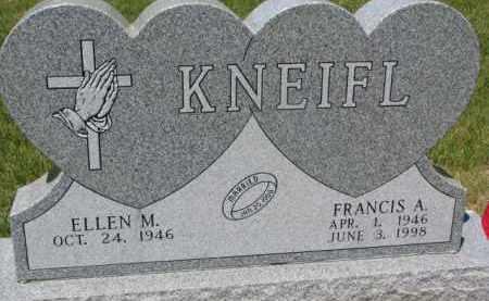 KNEIFL, FRANCIS A. - Dixon County, Nebraska | FRANCIS A. KNEIFL - Nebraska Gravestone Photos