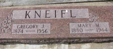 KNEIFL, GREGORY J. - Dixon County, Nebraska | GREGORY J. KNEIFL - Nebraska Gravestone Photos