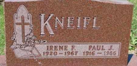 KNEIFL, PAUL J. - Dixon County, Nebraska | PAUL J. KNEIFL - Nebraska Gravestone Photos