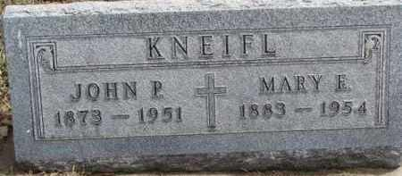 KNEIFL, MARY E. - Dixon County, Nebraska | MARY E. KNEIFL - Nebraska Gravestone Photos