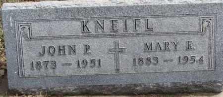 KNEIFL, JOHN P. - Dixon County, Nebraska | JOHN P. KNEIFL - Nebraska Gravestone Photos
