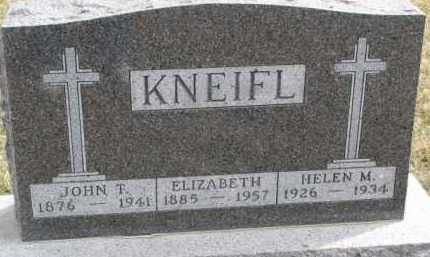 KNEIFL, ELIZABETH - Dixon County, Nebraska | ELIZABETH KNEIFL - Nebraska Gravestone Photos