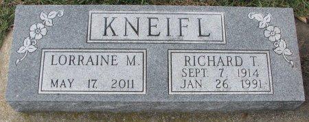 KNEIFL, RICHARD T. - Dixon County, Nebraska   RICHARD T. KNEIFL - Nebraska Gravestone Photos