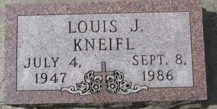 KNEIFL, LOUIS J. - Dixon County, Nebraska   LOUIS J. KNEIFL - Nebraska Gravestone Photos