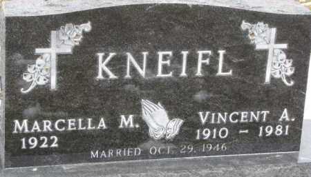 KNEIFL, VINCENT A. - Dixon County, Nebraska | VINCENT A. KNEIFL - Nebraska Gravestone Photos