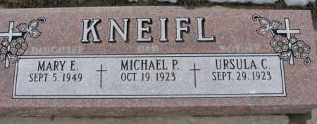 KNEIFL, MICHAEL O. - Dixon County, Nebraska | MICHAEL O. KNEIFL - Nebraska Gravestone Photos