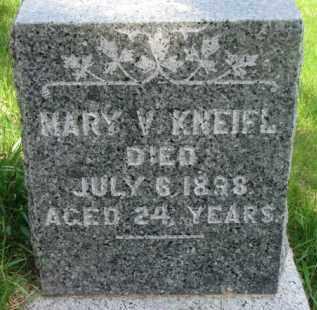 KNEIFL, MARY V. - Dixon County, Nebraska | MARY V. KNEIFL - Nebraska Gravestone Photos