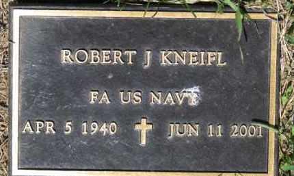 KNEIFL, ROBERT J. (MILITARY MARKER) - Dixon County, Nebraska | ROBERT J. (MILITARY MARKER) KNEIFL - Nebraska Gravestone Photos