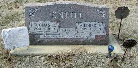 KNEIFL, MILDRED M. - Dixon County, Nebraska | MILDRED M. KNEIFL - Nebraska Gravestone Photos