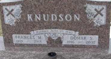 KNUDSON, DOMAR S. - Dixon County, Nebraska | DOMAR S. KNUDSON - Nebraska Gravestone Photos