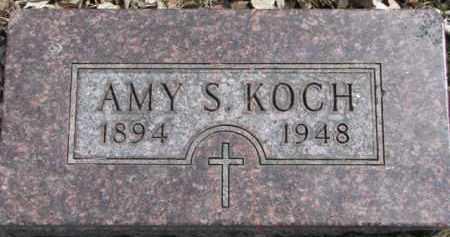 KOCH, AMY S. - Dixon County, Nebraska | AMY S. KOCH - Nebraska Gravestone Photos