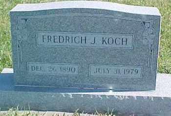 KOCH, FREDRICH J. - Dixon County, Nebraska | FREDRICH J. KOCH - Nebraska Gravestone Photos