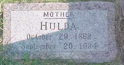 KOCH, HULDA - Dixon County, Nebraska | HULDA KOCH - Nebraska Gravestone Photos