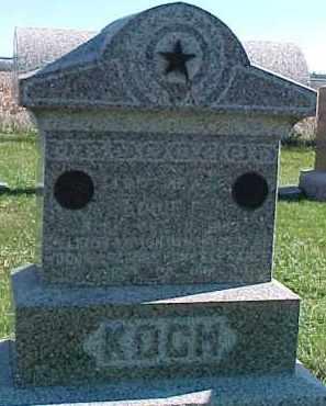 KOCH, LOUIE P. - Dixon County, Nebraska | LOUIE P. KOCH - Nebraska Gravestone Photos