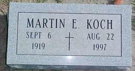 KOCH, MARTIN E. - Dixon County, Nebraska | MARTIN E. KOCH - Nebraska Gravestone Photos