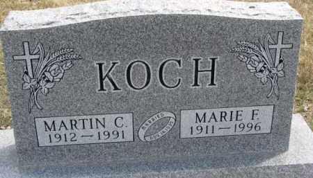 KOCH, MARTIN C. - Dixon County, Nebraska | MARTIN C. KOCH - Nebraska Gravestone Photos
