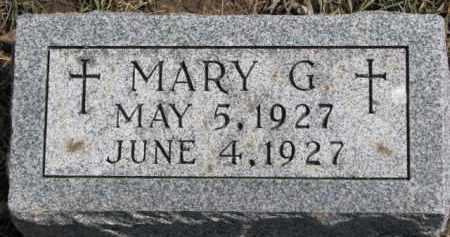 KOCH, MARY G. - Dixon County, Nebraska   MARY G. KOCH - Nebraska Gravestone Photos