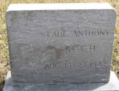 KOCH, PAUL ANTHONY - Dixon County, Nebraska | PAUL ANTHONY KOCH - Nebraska Gravestone Photos