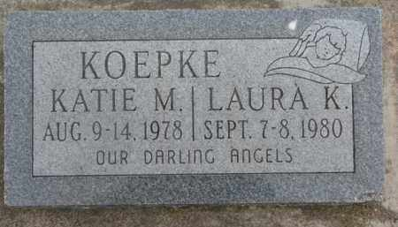 KOEPKE, LAURA K. - Dixon County, Nebraska | LAURA K. KOEPKE - Nebraska Gravestone Photos