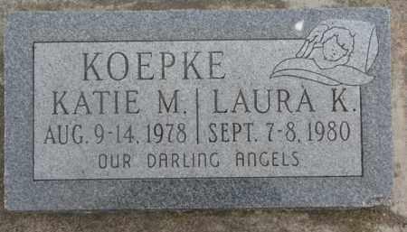 KOEPKE, KATIE M. - Dixon County, Nebraska | KATIE M. KOEPKE - Nebraska Gravestone Photos