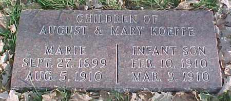 KOEPPE, INFANT SON - Dixon County, Nebraska | INFANT SON KOEPPE - Nebraska Gravestone Photos