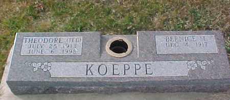 KOEPPE, THEODORE - Dixon County, Nebraska   THEODORE KOEPPE - Nebraska Gravestone Photos