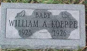 KOEPPE, WILLIAM A. - Dixon County, Nebraska | WILLIAM A. KOEPPE - Nebraska Gravestone Photos