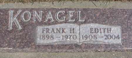 KONAGEL, EDITH - Dixon County, Nebraska   EDITH KONAGEL - Nebraska Gravestone Photos