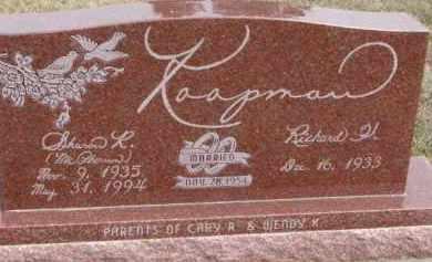 KOOPMAN, RICHARD H. - Dixon County, Nebraska | RICHARD H. KOOPMAN - Nebraska Gravestone Photos