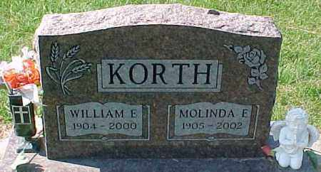 KORTH, WILLIAM E. - Dixon County, Nebraska | WILLIAM E. KORTH - Nebraska Gravestone Photos