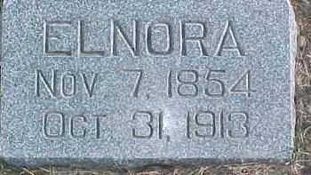 KOSER, ELNORA - Dixon County, Nebraska | ELNORA KOSER - Nebraska Gravestone Photos