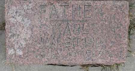KRABBENHOFT, KARL - Dixon County, Nebraska | KARL KRABBENHOFT - Nebraska Gravestone Photos