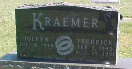 KRAEMER, FREDRICK - Dixon County, Nebraska   FREDRICK KRAEMER - Nebraska Gravestone Photos