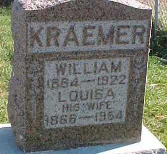 KRAEMER, WILLIAM - Dixon County, Nebraska | WILLIAM KRAEMER - Nebraska Gravestone Photos