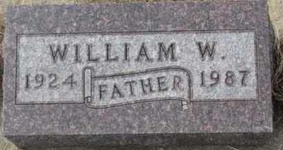 KRAHMER, WILLIAM W. - Dixon County, Nebraska | WILLIAM W. KRAHMER - Nebraska Gravestone Photos