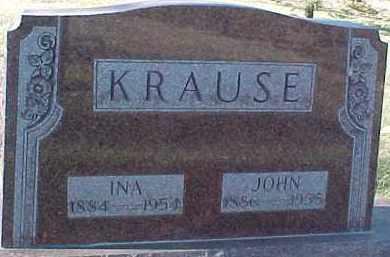 KRAUSE, JOHN - Dixon County, Nebraska | JOHN KRAUSE - Nebraska Gravestone Photos