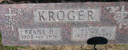 KROGER, FRANK H. - Dixon County, Nebraska | FRANK H. KROGER - Nebraska Gravestone Photos