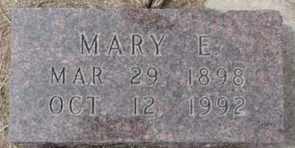 KRUGER, MARY E. - Dixon County, Nebraska | MARY E. KRUGER - Nebraska Gravestone Photos