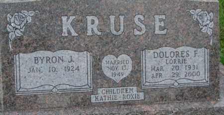 "KRUSE, DOLORES F. ""LORRIE"" - Dixon County, Nebraska | DOLORES F. ""LORRIE"" KRUSE - Nebraska Gravestone Photos"