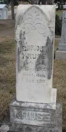 KRUSE, HEINRICH J. - Dixon County, Nebraska | HEINRICH J. KRUSE - Nebraska Gravestone Photos