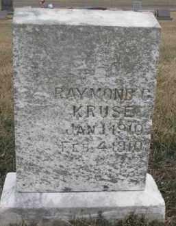 KRUSE, RAYMOND C. - Dixon County, Nebraska   RAYMOND C. KRUSE - Nebraska Gravestone Photos