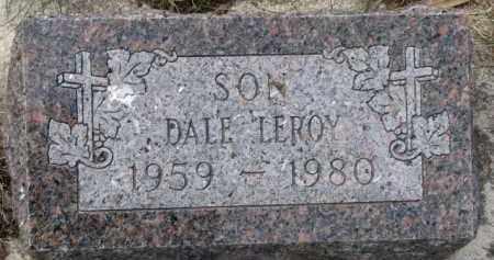KRUSEMARK, DALE LEROY - Dixon County, Nebraska   DALE LEROY KRUSEMARK - Nebraska Gravestone Photos