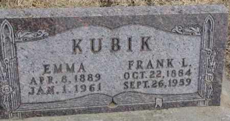 KUBIK, FRANK L. - Dixon County, Nebraska | FRANK L. KUBIK - Nebraska Gravestone Photos