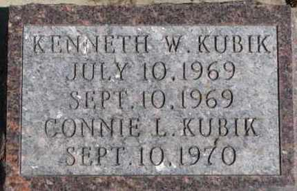 KUBIK, CONNIE L. - Dixon County, Nebraska | CONNIE L. KUBIK - Nebraska Gravestone Photos