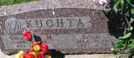 KUCHTA, CRISCENTIA M. - Dixon County, Nebraska | CRISCENTIA M. KUCHTA - Nebraska Gravestone Photos